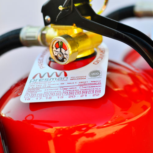 retimbrado de extintores