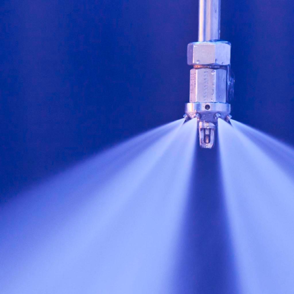 Sistemas de agua nebulizada contra incendios