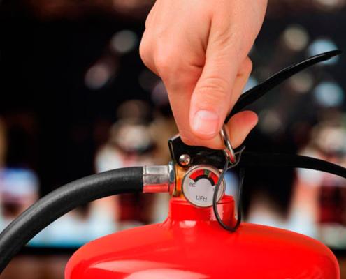 Caducidad de los extintores