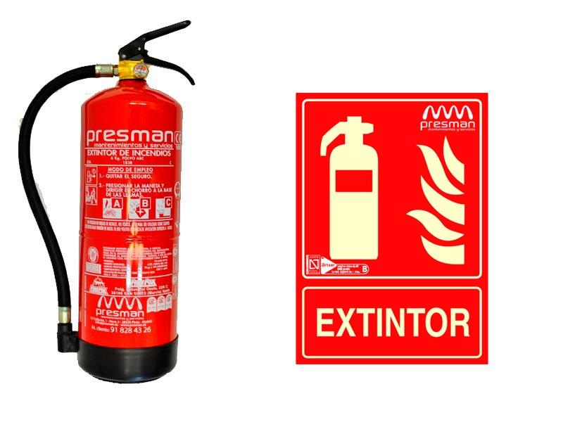 Señalética contra incendios