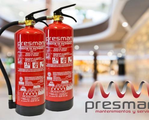 extintores local comercial